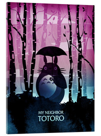 Verre acrylique  My neighbor Totoro - Albert Cagnef