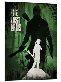 Tableau en PVC  The Last Of Us (anglais) - Albert Cagnef