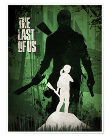 Poster  The Last Of Us - Albert Cagnef