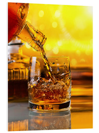Tableau en PVC  Whiskey with ice