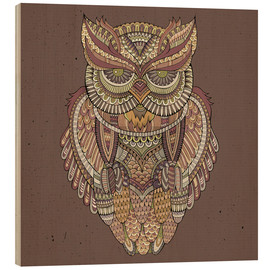 Bois  Owl - colours of the forest
