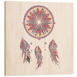 Dream Catcher red-blue