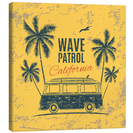 Toile  Wave Patrol California