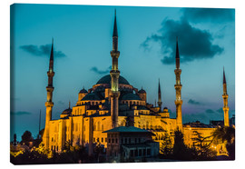 Tableau sur toile  Blue Mosque in Istanbul