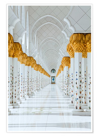 Poster Detail of Sheikh Zayed Mosque