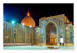 Shah Cheragh, a funerary monument and mosque in Shiraz, Iran