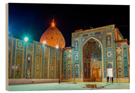 Bois  Shah Cheragh, a funerary monument and mosque in Shiraz, Iran
