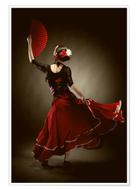 Poster  Danseuse de flamenco