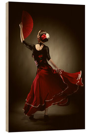 Bois  Flamenco dancer