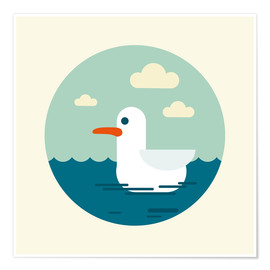Poster  La mouette - Kidz Collection