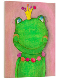 Bois  The Frog Queen and the colorful crown - Atelier BuntePunkt