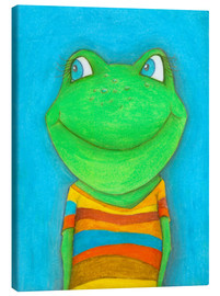 Toile  Good mood Frog - Atelier BuntePunkt