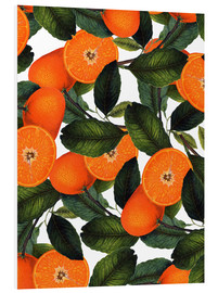 Tableau en PVC  Motif orange - Uma 83 Oranges