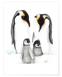 Poster penguins