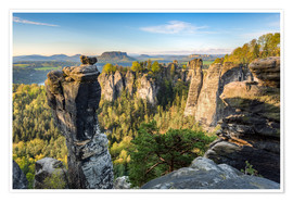 Poster  Saxon Switzerland - Michael Valjak