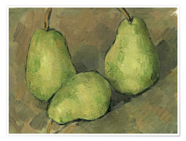 Poster Three Pears
