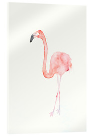 Verre acrylique  Flamingo - Dearpumpernickel