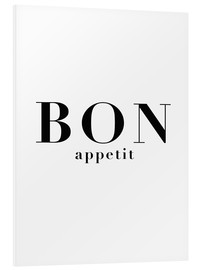 Tableau en PVC  Bon Appetit - Finlay and Noa