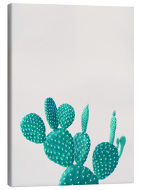 Toile  Cactus turquoise - Finlay and Noa