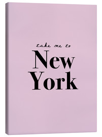 Tableau sur toile  Take me to New York - Finlay and Noa