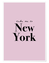 Poster  Take Me To New York - Emmenez-moi à NY - Finlay and Noa