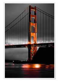 Poster Golden Gate