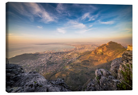 Toile  Table Mountain View - Salvadori Chiara
