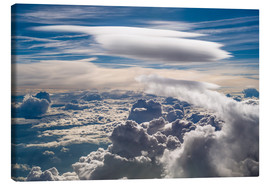 Toile  Riding clouds - Denis Feiner