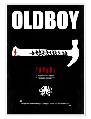 Poster Old Boy (anglais)