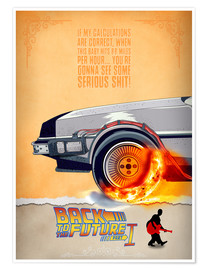 Poster  Back to the Future I - HDMI2K