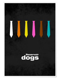 Poster  Reservoir Dogs - Minimal Film Movie Tarantino Alternative - HDMI2K