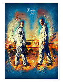 Poster  Breaking Bad - Walter White Series Show Alternative - HDMI2K