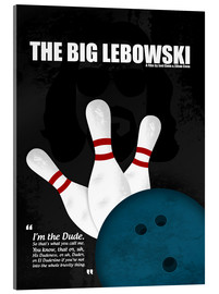 Verre acrylique  The Big Lebowski - HDMI2K