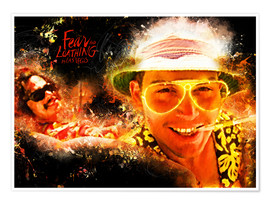Poster  Fear and Loathing in Las Vegas - Movie Film Alternative - HDMI2K