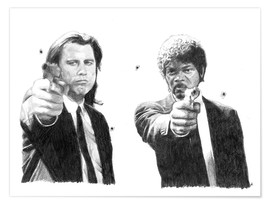 Poster  Pulp Fiction - Cultscenes