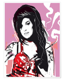Poster  Amy Winehouse - 2ToastDesign