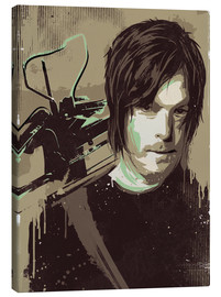 Tableau sur toile  The Walking Dead - Daryl Dixon - 2ToastDesign