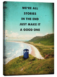 Toile  Citation de Dr Who - 2ToastDesign