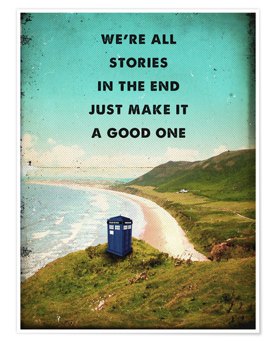 Poster Citation de Dr Who