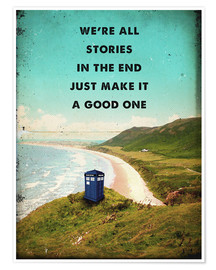 Poster  Citation de Dr Who - 2ToastDesign