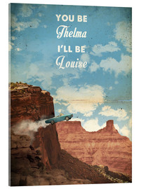 Verre acrylique  Thelma and Louise - 2ToastDesign