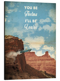 Tableau en aluminium  Thelma and Louise - 2ToastDesign