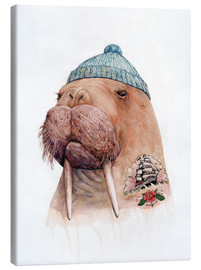 Toile  Tattooed Walrus - Animal Crew