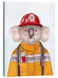 Toile  Koala Firefighter - Animal Crew