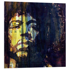Tableau en PVC  Jimmy Hendrix - Paul Lovering