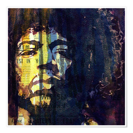 Poster  Jimmy Hendrix - Paul Lovering