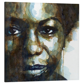 Alu-Dibond  Nina Simone - Paul Paul Lovering Arts
