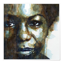 Poster  Nina Simone - Paul Lovering Arts
