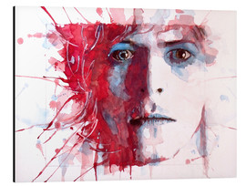 Alu-Dibond  The Prettiest Star : David Bowie - Paul Paul Lovering Arts