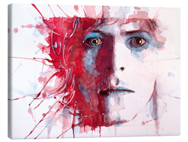 Toile  David Bowie - Paul Paul Lovering Arts